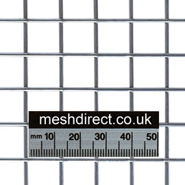 Welded Mesh 13mm x 13mm Hole (1/2 x 1/2 inch)