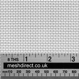 Woven Stainless Steel Wire 14 Mesh 1.31mm Hole