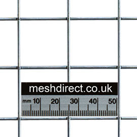 Stainless Welded Wire Mesh Panels 25mm x 25mm Hole 2.5mm wire