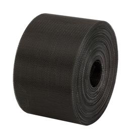 Black coated aluminium soffit mesh