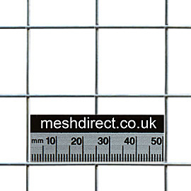Stainless Mesh 25mm x 25mm Hole (16 gauge)