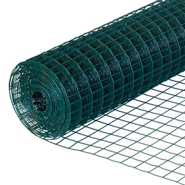 Green Coated Mesh Heavy-Weight