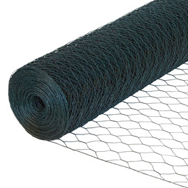 Green Coated Wire Netting