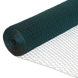 Green Coated Chicken Wire Netting