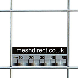 Stainless Mesh 50mm x 50mm Hole (12 gauge)