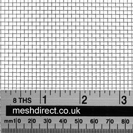 Woven Stainless Steel Wire 10 Mesh 1.98mm Hole