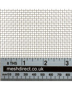 Woven Stainless Offcuts 10 mesh (304) - 1.98 mm aperture