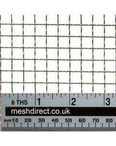 Woven Stainless Offcuts 3 mesh (304) - 7.3 mm aperture