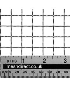 Woven Stainless Offcuts 2 mesh (316) - 11 mm aperture