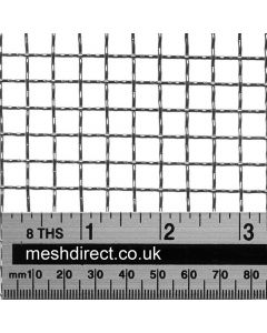 Woven Stainless Offcuts 3 mesh (316) - 6.8 mm aperture